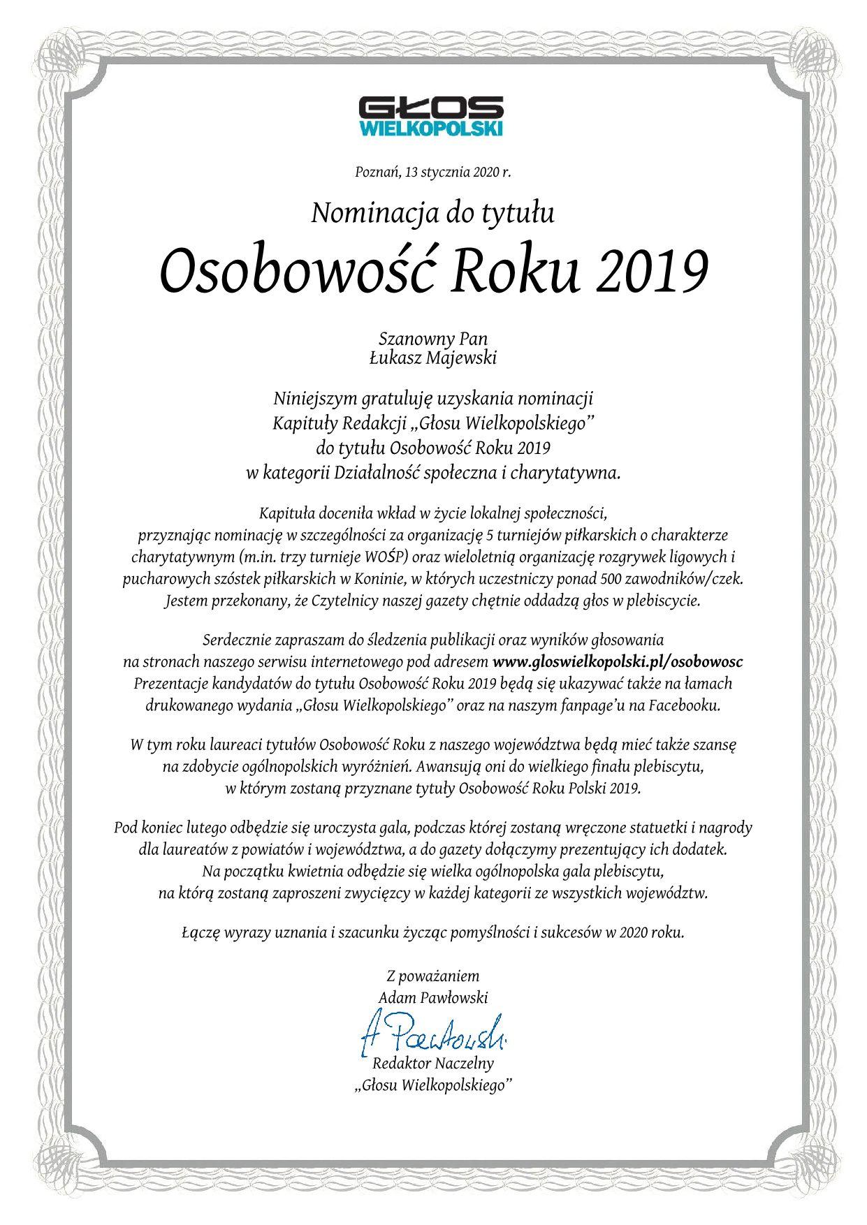 Nominacja_Lukasz_Majewski